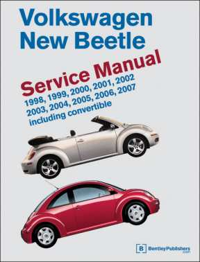 VW New Beetle Service Manual 1998-2008