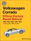 VW Corrado Service Manual 1990-1994